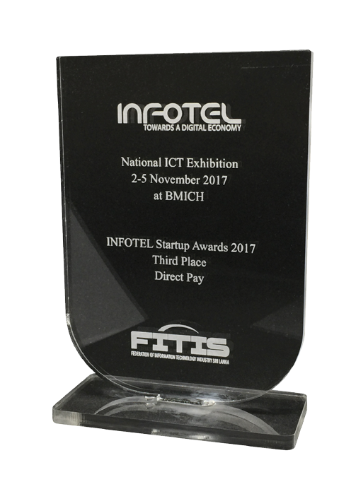 National ICT Exhibition at BMICH 3rd Place
