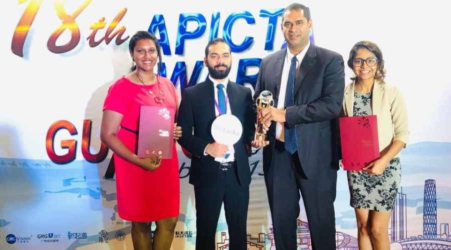 FINTECH STARTUPS MAKE SRI LANKA PROUD BY WINNING GOLD AND MERIT AWARDS AT APICTA